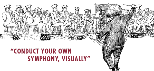 Conduct Your Own Symphony, Visually